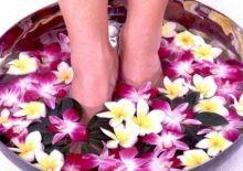 Упражнения и ванночки для ног